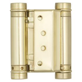 Петля пружинная Amig 9811 3037-75 двойная 20 мм сталь цвет золото