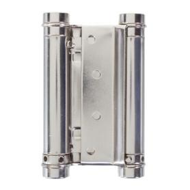 Петля пружинная Amig 9818 3037-100 двойная 20 мм сталь цвет никель