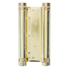 Петля пружинная Amig 98133037-125 двойная 20 мм сталь цвет золото