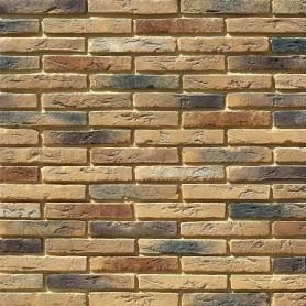 Плитка декоративная Остия Брик, цвет коричневый, 0.37 м2