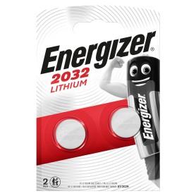 Батарейка литиевая Energizer ENR CR 2032 FSB2, 2 шт.