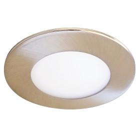 Спот встраиваемый Dlus, 5 Вт, 330 Лм, цвет никель, IP20