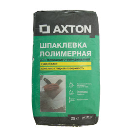 Шпаклёвка полимерная финишная Axton 25 кг