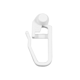 Крючки для шины Inspire пластик цвет белый, 20 шт.