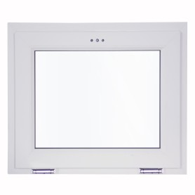 Окно-фрамуга ПВХ одностворчатое 50х70 см откидное однокамерное