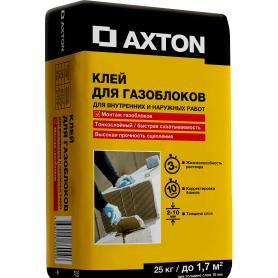 Клей для газоблоков Axton 25 кг