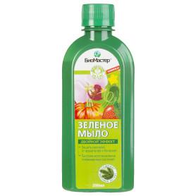 Мыло для защиты садовых растений от болезней «БиоМастер» 200 мл цвет зелёный