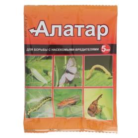 Средство для защиты садовых растений от вредителей «Алатар» 5 мл