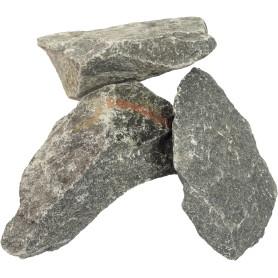 Камни для сауны Габбро-диабаз колотые, 20 кг
