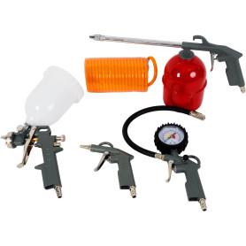 Набор пневмоинструментов, 5 предметов
