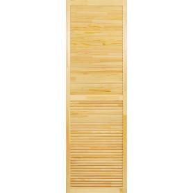 Дверка жалюзийная 2013х594х20 мм хвоя сорт А