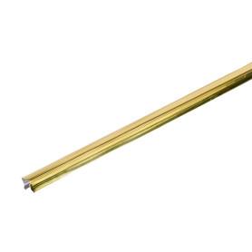 Раскладка 16x3000 мм цвет золото, 2 шт.
