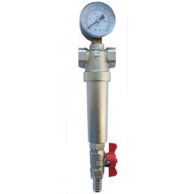 Фильтр механической очистки Euros для горячей и холодной воды 1 дюйм 300 мкм