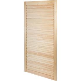 Дверка жалюзийная 1205х494х20 мм хвоя сорт А/В