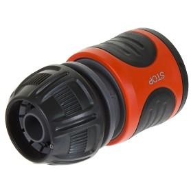 Коннектор для шланга быстросъёмный с автостопом Gardena 1/2 дюйма