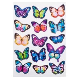 Наклейка «Вечерние бабочки» Декоретто L