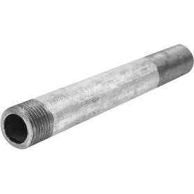 Сгон удлинённый d 15 мм L 0.15 м оцинкованная сталь