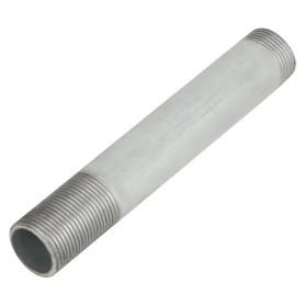 Сгон удлинённый d 25 мм L 0.2 м оцинкованная сталь