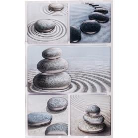 Наклейка 3D «Сад камней» POA 9101