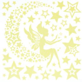 Наклейка светящаяся «Звездная фея» RЕA 2001