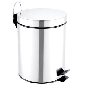 Бак для мусора Sensea 5 л цвет хром