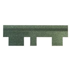 Черепица гибкая Mida Аккорд зелёный 3 м²