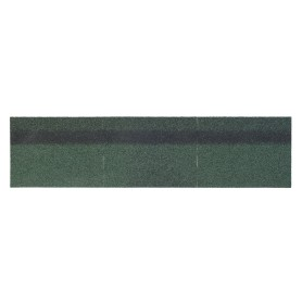 Черепица коньково-карнизная Mida, цвет зелёный