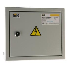 Щит металлический IEK ОЩВ-3-63-6-0 36 на 6 модулей