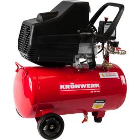 Компрессор масляный Kronwerk, 24 л 206 л/мин. 1.5 кВт