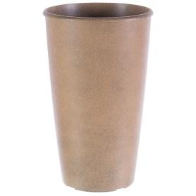 Горшок цветочный «Коне» D28, 18, 5л., пластик, Коричневый