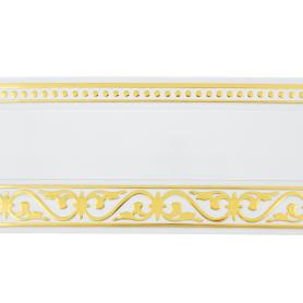 Бленда «Монарх» 7 см белый глянец