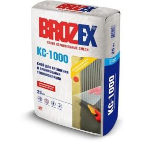 Клей для теплоизоляции Brozex КС-1000, 25 кг
