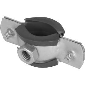 """Кронштейн стальной, с резиновым уплотнителем, 1/2"""", 21-24 мм"""