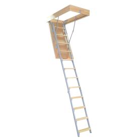Лестница чердачная комбинированная 60x120х280 см
