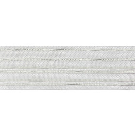 Лента шторная вафельная прозрачная 60 мм цвет белый