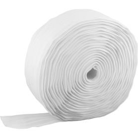 Лента шторная вафельная 62 мм цвет белый