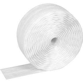 Лента шторная параллельная 65 мм цвет белый