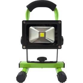 Прожектор светодиодный переносной на аккумуляторе 10 Вт, 900 Лм