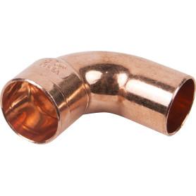 Отвод 90° Viega 15 мм внутреннее-наружное соединение, медь