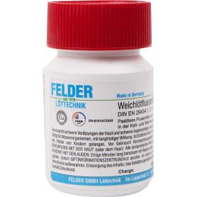 Флюс для мягкого припоя Felder, в тюбике, 70 гр