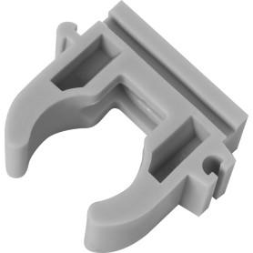 Крепёж трубы FV-Plast, 20 мм, полипропилен, цвет серый