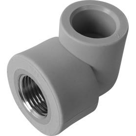 """Угол 90° ⌀20 мм х 1/2"""" FV-PLAST ВР полипропилен"""
