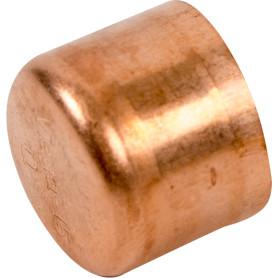 Заглушка Viega 15 мм, медь