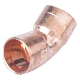 Отвод 45° Viega 15 мм внутреннее-внутреннее соединение, медь