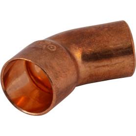 Отвод 45° Viega 15 мм внутреннее-наружное соединение, медь