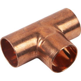 Тройник Viega 22х22х22 мм наружное-наружное-наружное соединение, медь