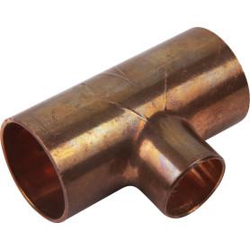 Тройник Viega 22х15х22 мм наружное-наружное-наружное соединение, медь