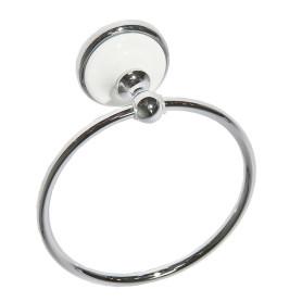 Полотенцедержатель «Aster» кольцо цвет хром