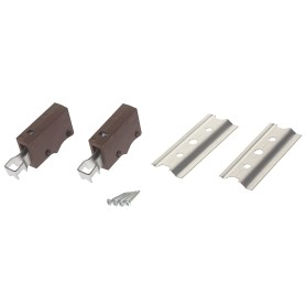 Комплект для навески шкафов 64 кг, цвет коричневый