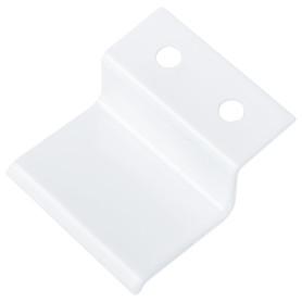 Крепление для москитной сетки металл цвет белый, 4 шт.